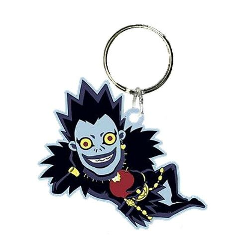 Death Note Ryuk Character Keyring Rubber Keychain Fob
